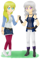 PC: Lyra's Sisters - Luna and Cora by BlazingSoul96
