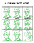 walcae facial expressions by Calallini
