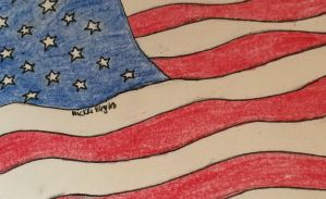 Land of the Free and Home of the Brave by ArtByNickki