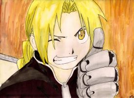 Edward Elric by SiriusIsntSerious