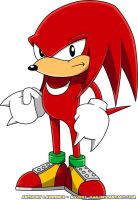 Classic Knuckles the Echidna by Advert-man