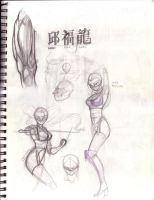 1998 - Sketchbook Vol.6 - p085 by theory-of-everything