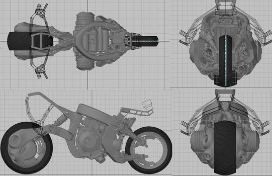 WIP :: uBike modeling09 by wh6b