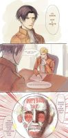 [Comic] Happy Birth Day Erwin Danchou by rainbuni