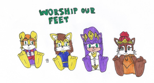 Worship Our Feet by SPATON37