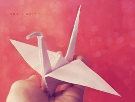 1000 cranes for Japan by MrsClarify