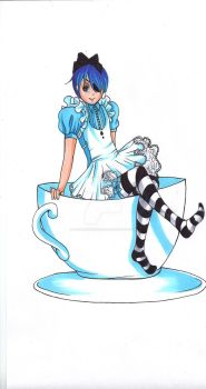 Ciel in the Cup by MadameUndertaker