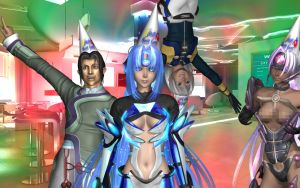 Xenosaga New Years by Primantis