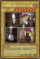 yu gi oh card: Chocolate bar by dragynnboy