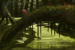 Swamp Life by Exobio