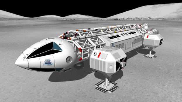 Eagle Transporter from SPACE: 1999 by DarkFoundation