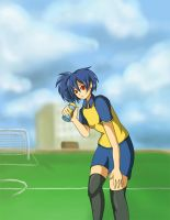 HBD: Practice on the Pitch by Ribbon-Knight