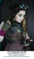 Steampunk Girl Stock 002 by MADmoiselleMeliStock