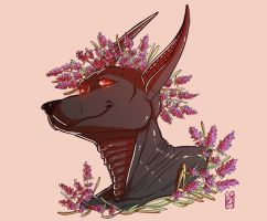 Seito - flower portrait commission by iisjah