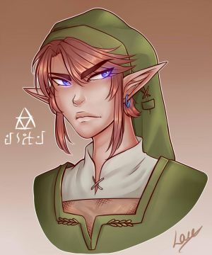 .:Link:. Headshot by Luurei
