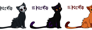 Cat Adoptables #4 -closed- by Tawas