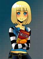 Mmmm....Cheez-its by UltraPunkNERD