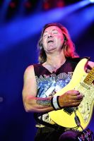 Iron Maiden:  Dave Murray 1 by basseca