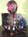 Steampunk diorama - monster high by bodaszilvia