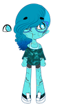 .:Steven Universe OC:. Turquoise by F-rostyy