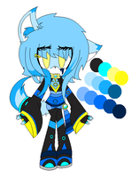 New Character...Lazy Reff l3 RE DO by KiittyDitty