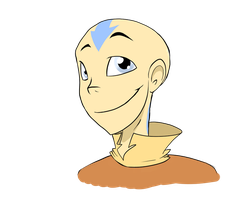 Aang by FillyBlue