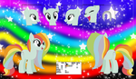 Rainbow Crunch's Official Reference Sheet by Starlollipop