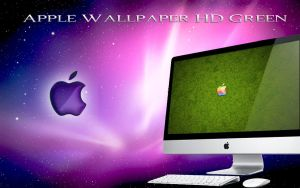 Apple Wallpaper HD Green by wallybescotty