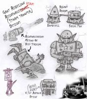 Grot Reinforceheads Concepts by Proiteus
