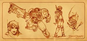 StarCraft Sketches by RYE-BREAD