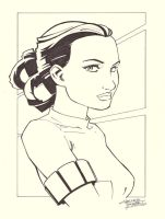 sketchy: Padme by KidNotorious
