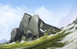 Some rocks by victter-le-fou