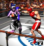 Mixed boxing experiment by mysticx1