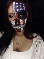 American Skull by captainsarasparrow