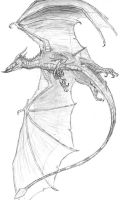 Bat Dragon by Ashere