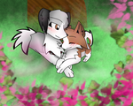 Under the cherry Blossoms by pokemonmae3
