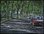 HDR street by zentenophotography