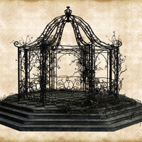 Spooky Gazebo by Just-A-Little-Knotty