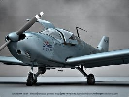 Light aircraft 3D 2 by technogene