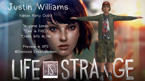 LiS - Justin Williams Vortex Outfit by angelic-noir