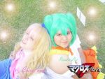 Sheryl Nome and Ranka Lee II by Die-Rose