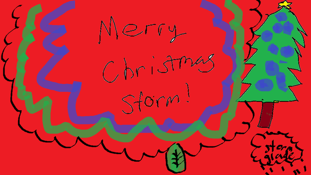Merry Christmas Storm! by mapleheartchained
