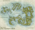World Map for The Chessman's Mark by JhekieJ