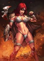 Red Sonja by viniciustownsend