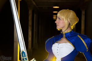 Saber- Print available 7 by Cosmic-Empress