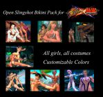 SFxT Mods - Open Slingshot Bikini Pack by Segadordelinks