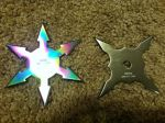 Two throwing stars by imredneckson
