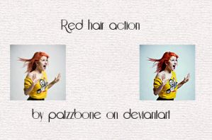 Red hair action by patzbone