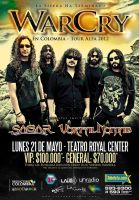Poster WarCry en Colombia 2012 by bergslay