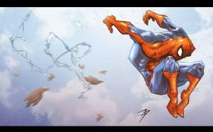 Parkour Spiderman by Anothen